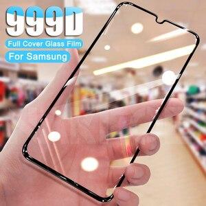 Закаленное стекло 999D для Samsung Galaxy A01 A11 A21 A31 A41 A51 A71, Защитное стекло для экрана M01 M11 M21 M31 M51, защитная пленка