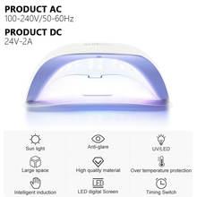Аппарат для сушки гель лака ногтей светодиодсветодиодный лампа
