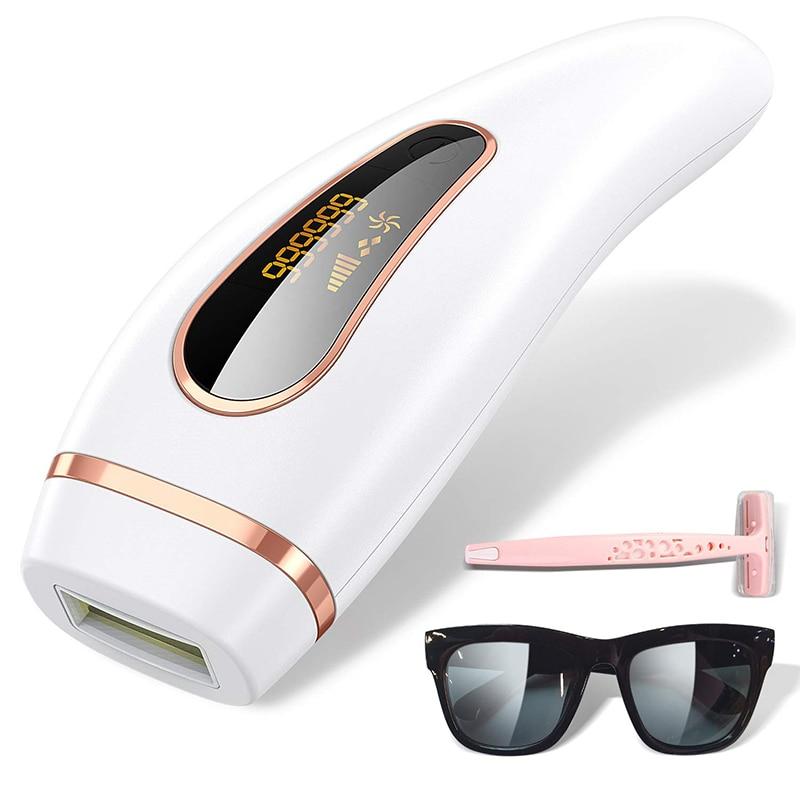 Depilador a Laser para Mulheres Depilador para Mulheres Máquina de Remoção de Pelos Flash Photoepilator Display Lcd Biquíni Ipl 999999
