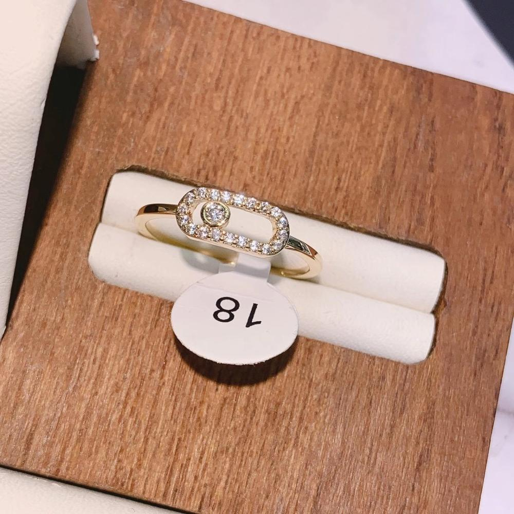 Luxury Elegant Brazil Initial Stackable Rings for Women Wedding CZ Finger Rings Beads Charm Ring Bohemian Beach Jewelry  J1918 4