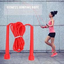 Skipping Rope Adult 9 foot Long Nylon Plastic Handles Gym Fitness Training