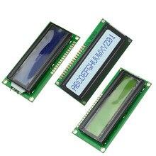Модуль ЖК-дисплея с желтой, синей, светодиодный светодиодной подсветкой, 1601, 5 В, 16 х1, плата модуля символов LCM STN SPLC780D / KS0066 для Arduino