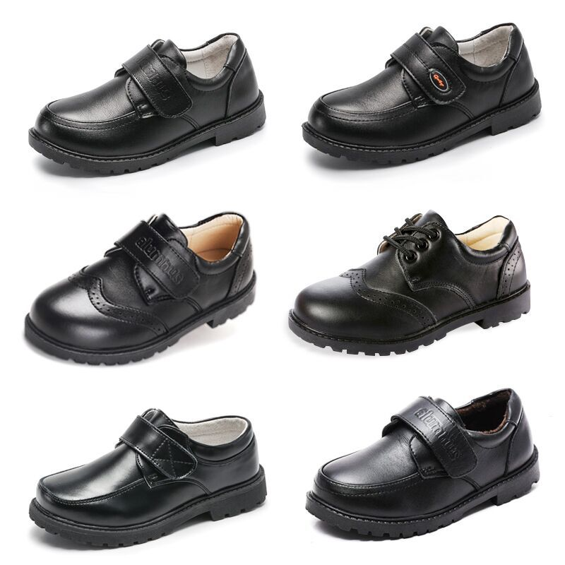 Girls PU Leather Shoes Fashion Party Dancing Shoes For Medium Kids DDNXT075621