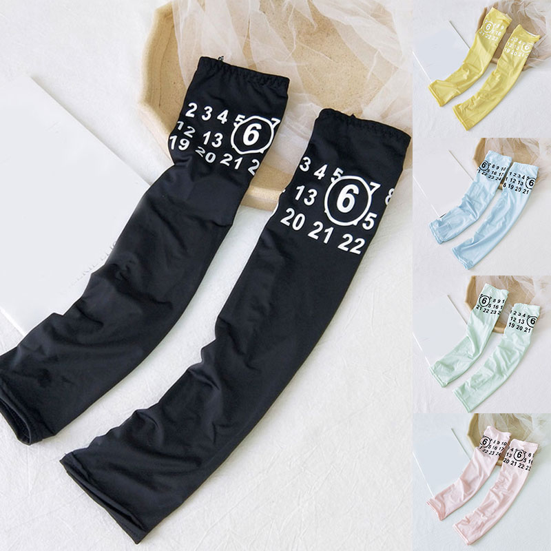 1 Pair Men Women Arm Sleeves Summer Sun Driving Arm Cover UV Protection Ice Cool Cycling Running Fishing Climbing Warmers