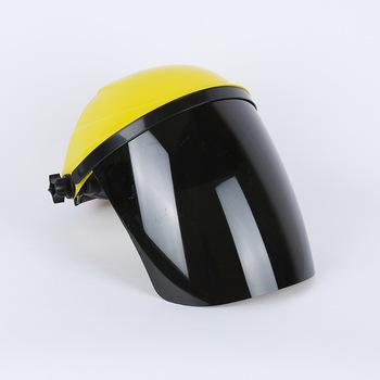 Bezpieczeństwo kask spawalniczy spawacz obiektyw szlifowanie tarcza osłona radiacyjna osłona na twarz wyposażeniem ochronnym WWO66 tanie i dobre opinie Face Shield
