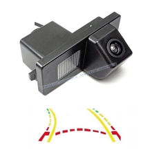 CCD 600Line Intelligent Dynamic Trajectory Tracks Car Rear View Camera Waterproof For SsangYong Kyron Rexton Korando Actyon