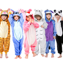 Children Pajamas Winter Sleepwear Boys Onesies Girls Pajama