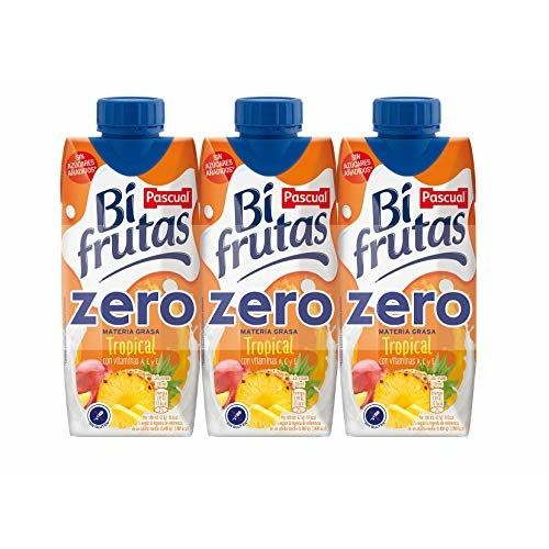 Zumo Tropical Bifrutas Zero Pascual 3 X 330ml