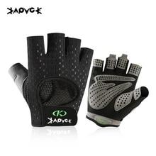 Training-Gloves Dumbbell Weightlifting Horizontal-Bar Half-Finger Anti-Slip Breathable