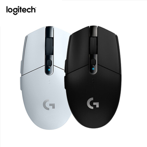 Logitech G304 LIGHTSPEED 6 Buttons Wireless HERO Sensor 12000DPI Adjustable Gaming Mouse Optical Game Mice White and Black