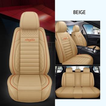Cubierta de asiento de coche para peugeot 208, 508, 307, 407, 308...