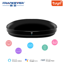 FrankEver Smart IR Remote Control WiFi IR Blaster Controller Universal Repeater Hub Work with Alexa Tuya APP Smart Household