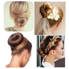1pcs Synthetic Hairbands Girls Magic Hair Bun Maker for Women Hair Acc