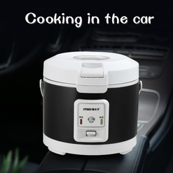 Car Use Rice Cooker 3L Cooking In The Car Electric Lunchbox 24V  Food Warmer Rice Steamer Mini Rice Cooker Mini Electric Cooker
