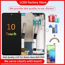 Aaa + + + Originele Lcd Met Frame Voor Xiaomi Redmi Note 9S Lcd-scherm Voor Xiaomi Redmi Note 9 pro Lcd-scherm 10-Touch