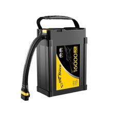12S 16000mah 15C 44,4 V Интеллектуальная батарея lipo батарея с AS150U разъем для сельского хозяйства БПЛА