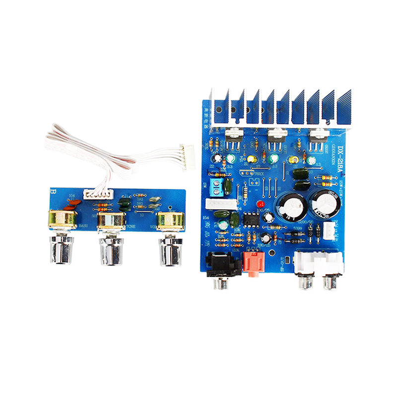 TDA2030 Audio Stereo Amplifier Board 15W*2+30W Dual AC12V-15V 2.1 Channel Subwoofer Amplifiers For Home Speaker Amplificador DIY