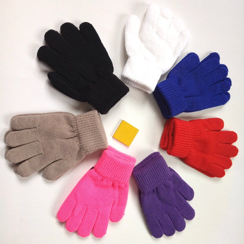 Children's Warm Gloves In Autumn And Winter, With Elastic Warm Effect, Suitable For Children Aged 3-10 Years, Boys And Girls Can