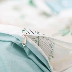 Image 5 - Svetanya yapraklar baskı yastık kılıfı ve nevresim takımı pamuk çarşaflar e n e n e n e n e n e n e n e n e n e çift kraliçe çift kişilik yatak seti