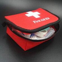 Gorąca sprzedaż zestaw pierwszej pomocy Mini rodziny apteczka Sport zestaw podróżny domu torba medyczna samochód apteczka