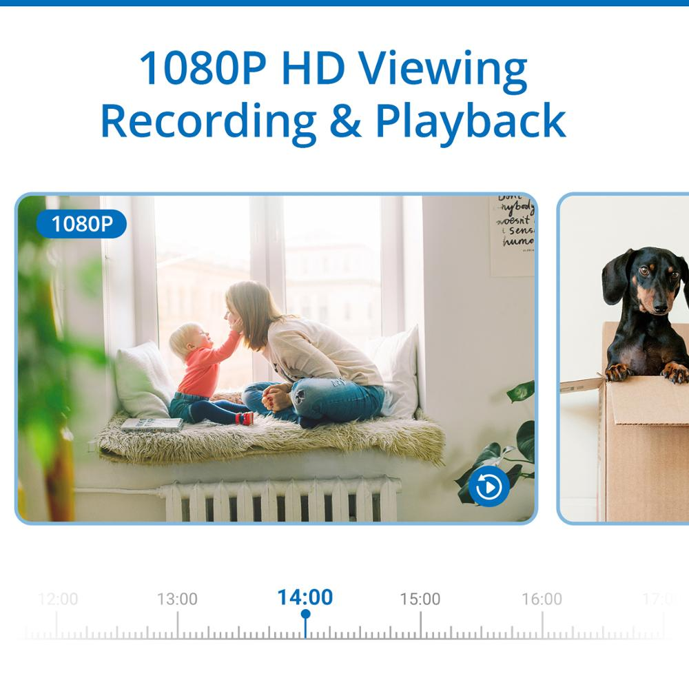 SANNCE 8 καναλιών Wifi 1080P IP κάμερα NVR - Ασφάλεια και προστασία - Φωτογραφία 5