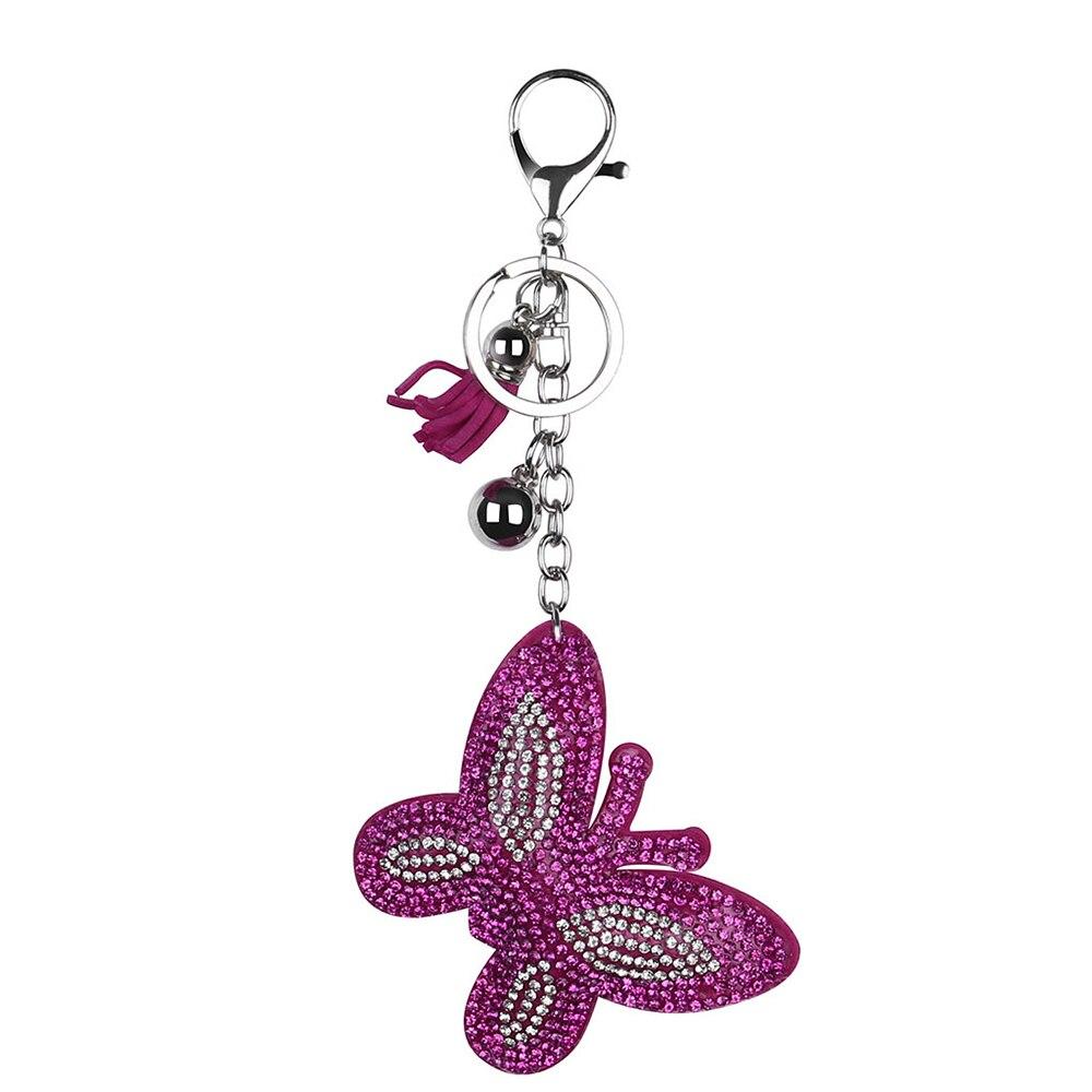 Брелок для ключей на Хэллоуин, брелок с расцепной брелок, брелок с бриллиантами, подарок на Хэллоуин - Цвет: B