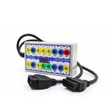 أداة تشخيص رابط إشارة OBD2 ، صندوق الإنطلاق ، كاشف بروتوكول السيارة ، اختبار خط OBD