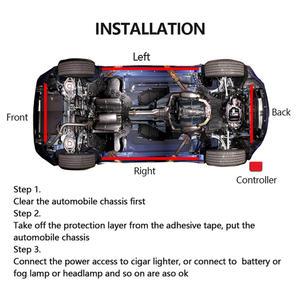 Image 5 - Flexible RGB 48 LED Streifen Unter Auto Rohr Underglow Unterboden System 4Pcs Neon Lichter Kit Für Heißer Verkauf