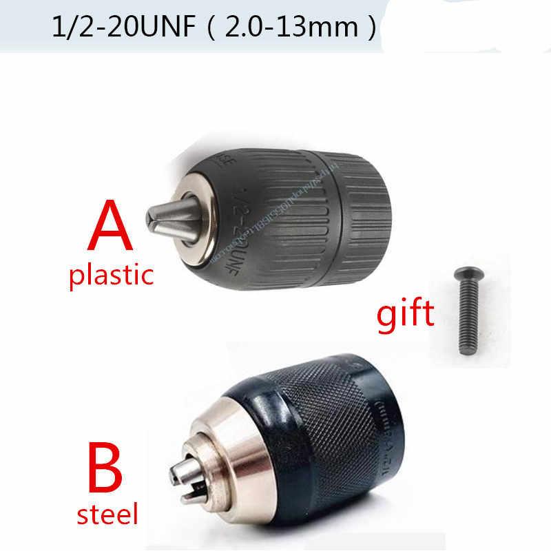 Convertidor de portabrocas sin llave adaptador de cambio r/ápido con v/ástago SDS-Plus rosca 24UNF de 9,5 mm v/ástago hexagonal de 6,3 mm adaptador hembra cuadrado de 12,7 mm