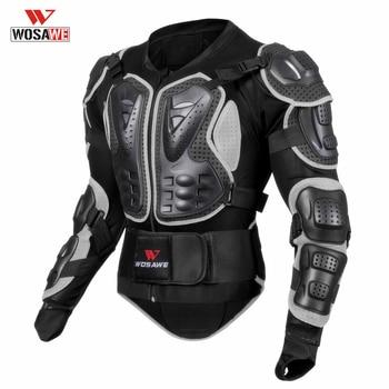 Snowboarding Armor Motos Motocicleta Skiing Body Armor Shirt Jacket PVC EVA Back Shoulder Protector Gear Size M-3XL