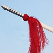 Нержавеющая сталь красная кисточка голова копья боевые искусства