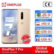 Global Versie Oneplus 7 Pro 6Gb 128Gb Smartphone 48MP Triple Cams Snapdragon 855 90Hz 2K + amoled Screen Oneplus Officiële Winkel