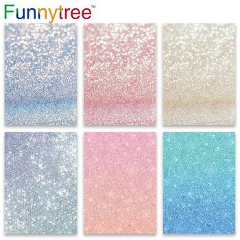 Funnytree backdrops photography studio newborn baby shower pink blue bokeh summer children photo background photocall photozone