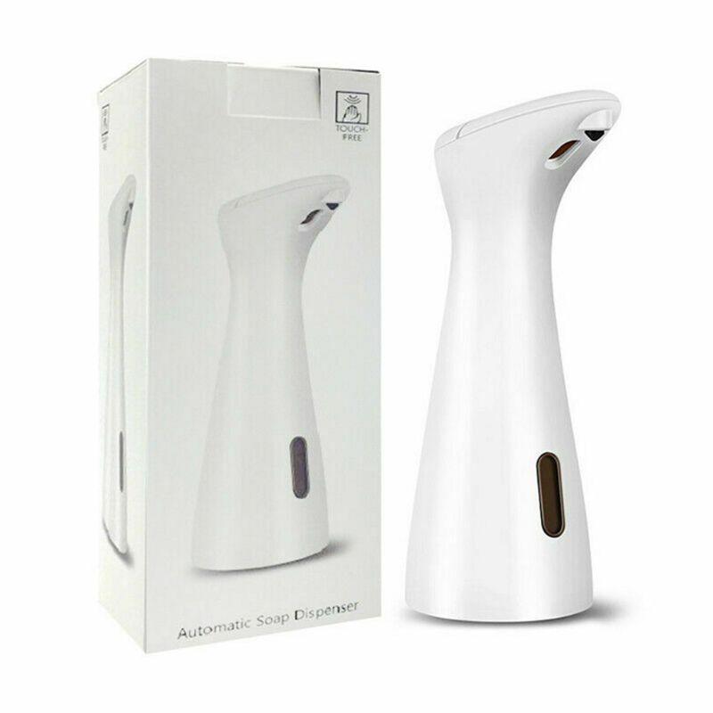 200ml Premium Automatic Touchless Liquid SOAP Dispenser ไฟฟ้าจานกันน้ำ
