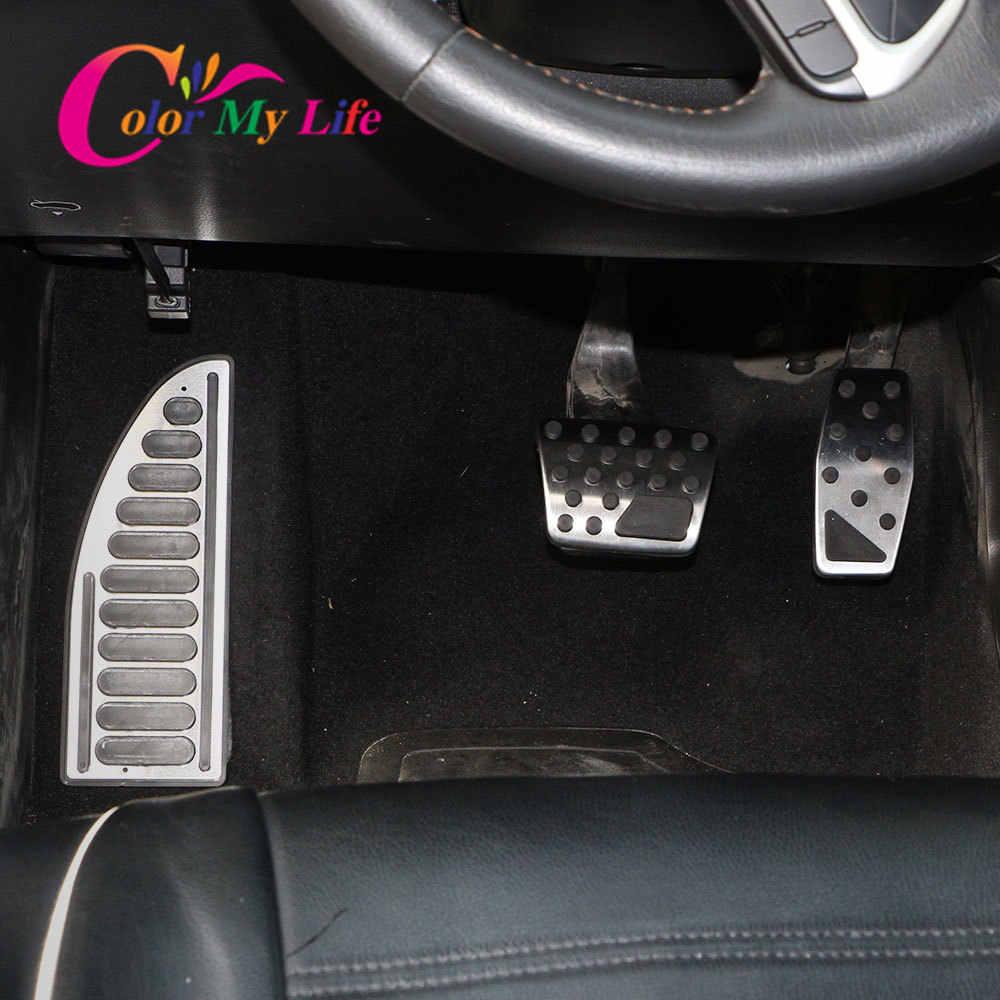 ZHHRHC Pedale del Pedale del Freno del Carburante del Gas Copre Gli Adesivi del Pedale Car Styling Accelerator per BMW 1.3 Serie X1 E39 E46 E87 E90 E91 E92