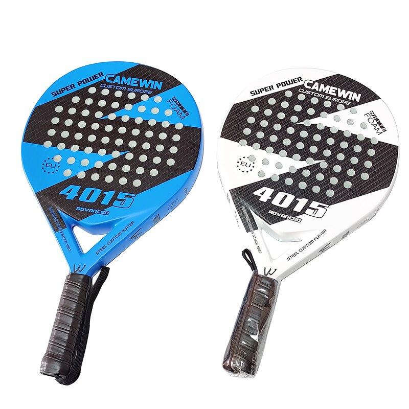 Raquette professionnelle de Tennis de plage de carbone pleine raquette molle de Tennis de visage deva Raqueta avec le sac pour ladulte