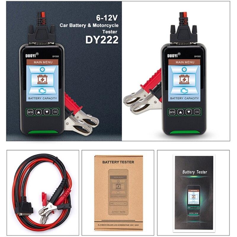 detector de teste de carregamento dy222 da