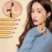 1 pièces maquillage crayon à sourcils doré pour fards à paupières naturel longue durée tatouage sourcils étanche sourcil maquillage ensemble beauté outils