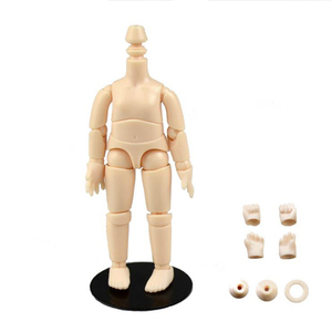 obitsu OB11 BJD 11CM Doll toys 19 joint Top Quality Chinese Doll BJD Ball Joint Doll toys with holder And hand group(China)