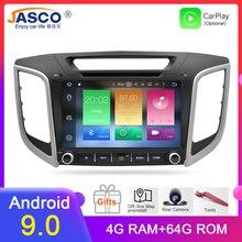 IPS Android 9.0 Car Stereo DVD Radio GPS Navigation Player For Hyundai ix25 Creta 2014-2018 Video Multimedia  Bluetooth Headunit