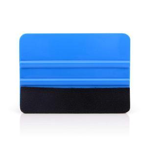 Image 3 - FOSHIO 10 個ビニールラップフィルムカードスキージ炭素繊維ステッカーカーツールフェルトスクレーパー自動車窓色合いツールアプリケーター
