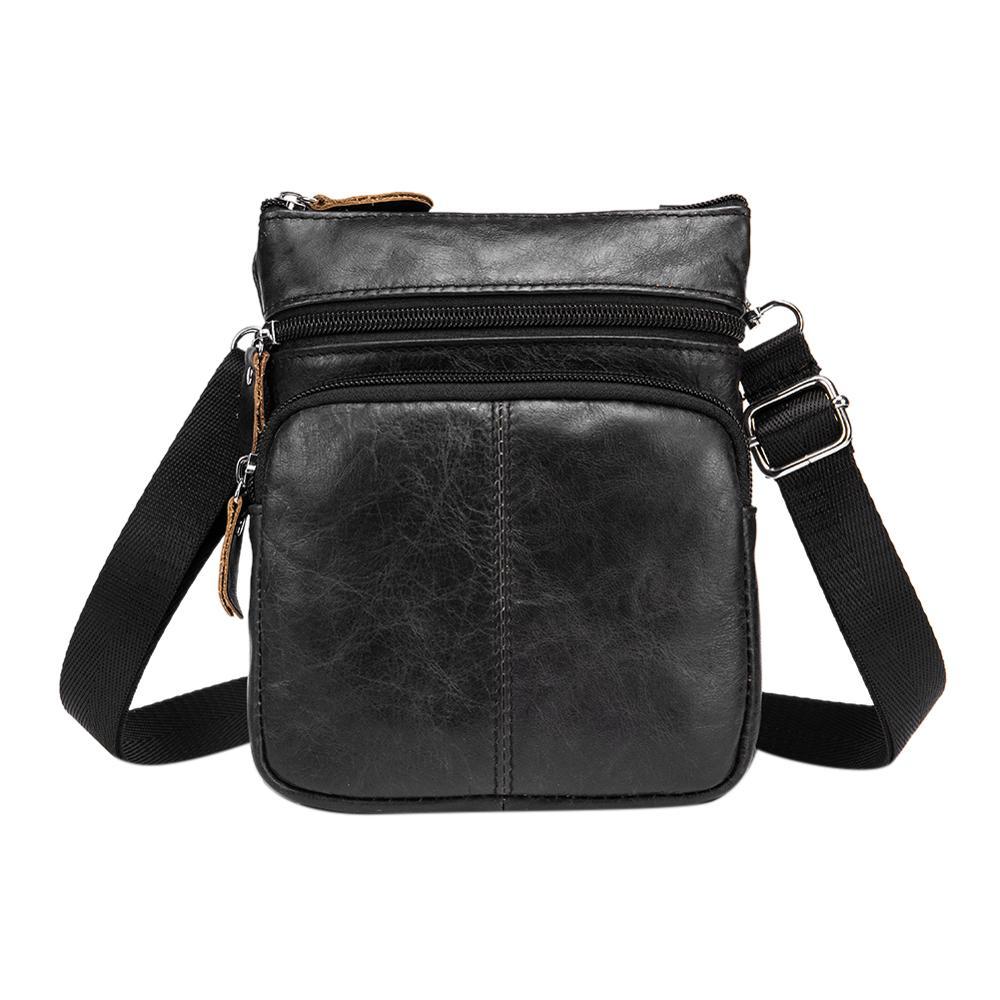 Brand Designer Business Shoulder Crossbody Bag For Men Fashion Genuine Leather Satchel Handbags Male Sling Messenger Bags Bolsas
