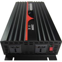2500VA/2500W/2.5KW single phase pure sine wave inverter 12V 24V 48V DC to 100~120VAC, 220~240VAC output Industrial Frequency