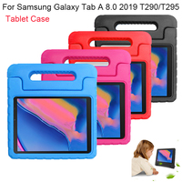 case samsung galaxy For Samsung Galaxy Tab A 8.0 2019 T290 T295 Tablet Case EVA Shockproof Portable Handle Protective Stand Cover Protection Case (2)