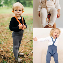 Overalls Toddler Pants Girls Baby Autumn Winter Knit Solid Cotton SS Boys Cute Brand-New