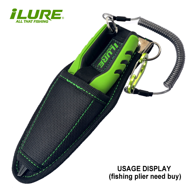 ILURE M Size 205*80mm WaterProof Multi-Purpose Fishing Tools Bag Plier Holder Fish Lip Gripper Grip Cover Protector Tool Pesca