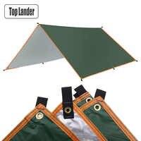 4x3m 3x3m auvent imperméable bâche tente ombre ultraléger jardin auvent parasol extérieur Camping hamac pluie mouche plage soleil abri