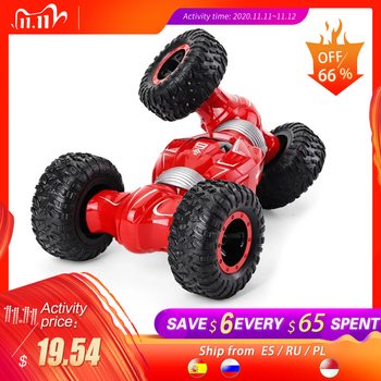 SHAREFUNB Q70 RC Car Radio Control 2.4GHz 4WD Twist Desert Cars Off Road Buggy Toy High Speed Climbing RC Car Kids Children Toys