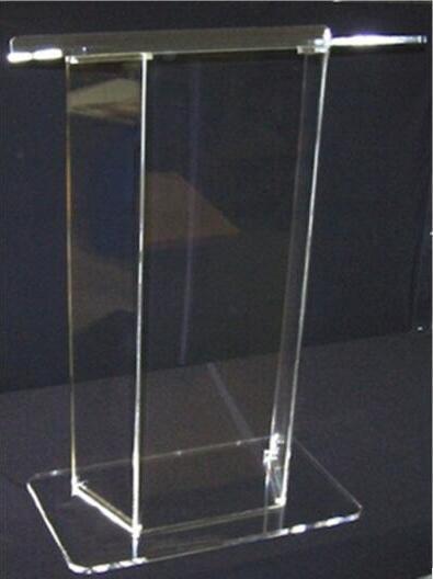 Mobilya'ten Resepsiyon Masaları'de Toptan kilise kürsü ücretsiz kargo akrilik kilise minber  şeffaf plastik kilise podyum title=