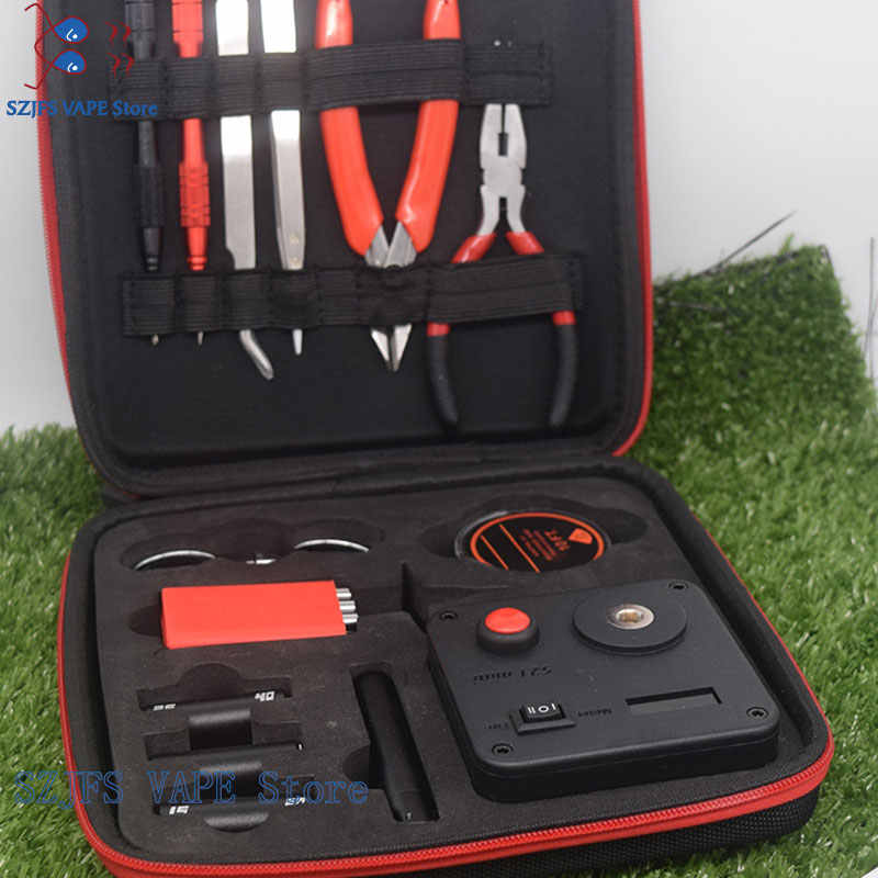 Update sub two Coil Master V3 DIY Kit AllinOne CoilMaster V3+ Electronic Cigarette RDA tomizer coil tool bag Accessories Vape